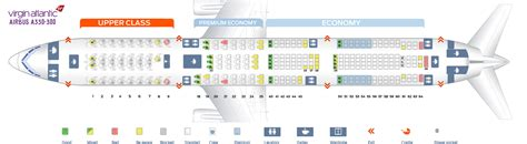 seat map airbus a330 300 atlantic best seats in plane