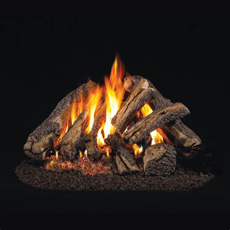 Peterson Fireplace Logs by 24 Quot Western Cfyre Vented Log Set G4 Ember Burner
