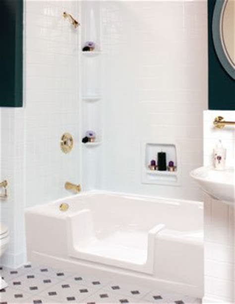 Bathtub Walk Through Insert by Tub Shower Conversion Tub Cut Out Handicap Accessible Tub
