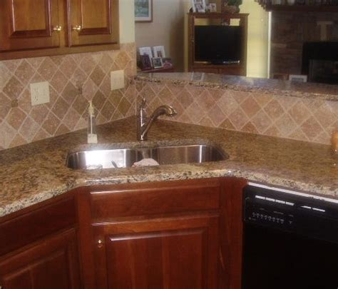 kitchen backsplash ideas with santa cecilia granite pin by cbell on for the home