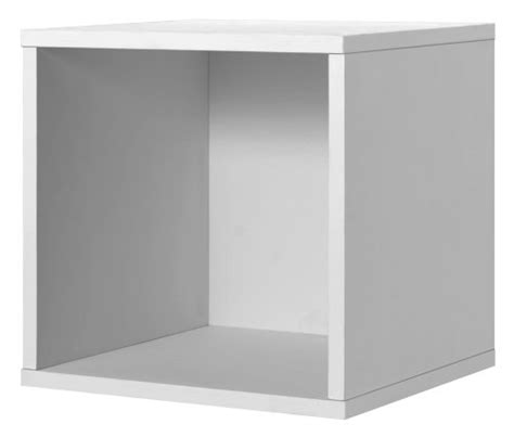 Modular Shelf Cube Storage System by Foremost 327601 Modular Open Cube Storage System White