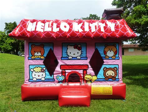 bounce house rental 3d hello kitty bounce house rental in miami
