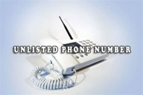 Unlisted Search Unlisted Phone Number Vs Non Published Or Unpublished Number