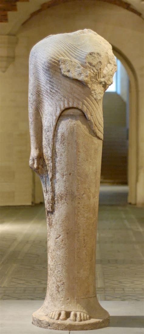 colmata persiana kore scultura