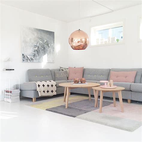 graues wohnzimmer wohnzimmer im skandinavischen einrichtungsstil