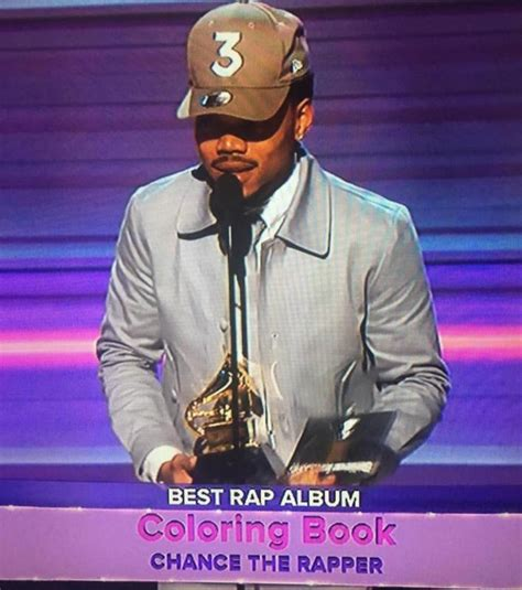 coloring book chance the rapper soundtrack chance the rapper s coloring book wins best rap album his