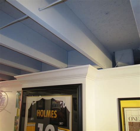 low basement ceiling ideas great how to soundproof a