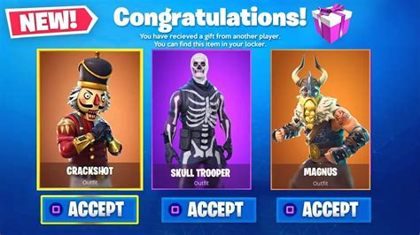 fortnite gifting new fortnite gifting system free gifts release