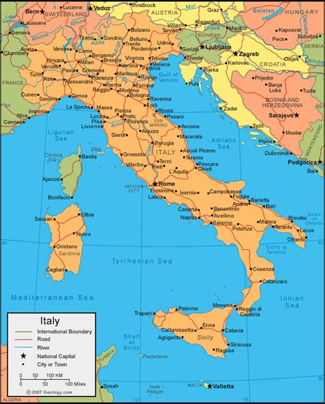 world map with country name italy italien karta regionala