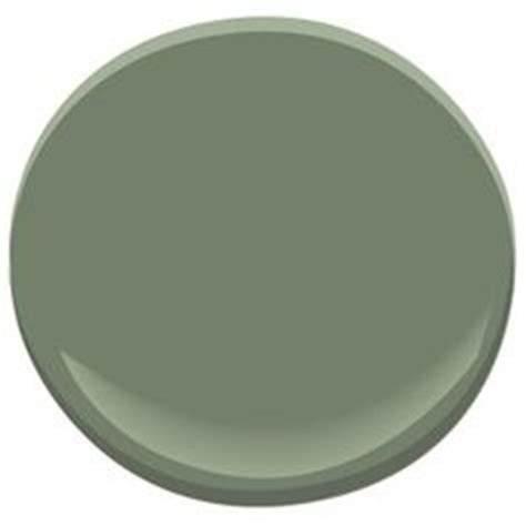 benjamin cushing green looks like it would work with a gray for the home