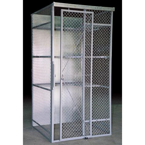 woven welded wire cages security cage storage