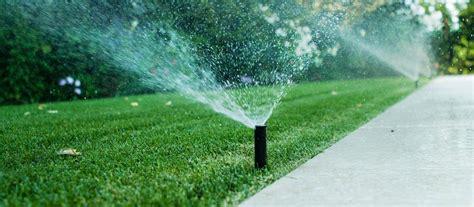 impianto di irrigazione giardino giardino quanta acqua serve per irrigare prato piante e