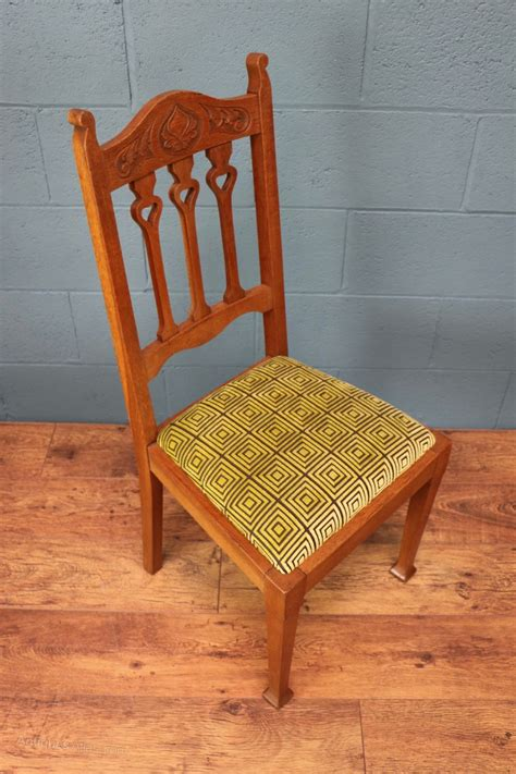 arts and crafts dining chairs antiques atlas