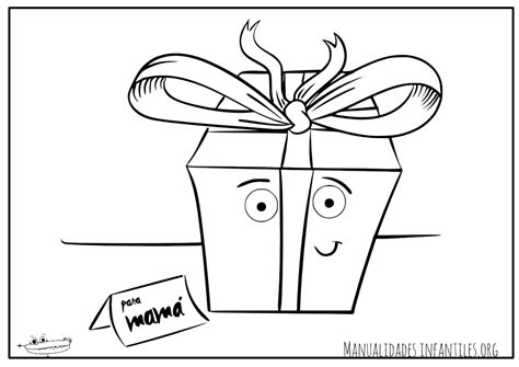 dibujos para colorear regalo del da de la madre dibujos para el d 237 a de la madre manualidades infantiles