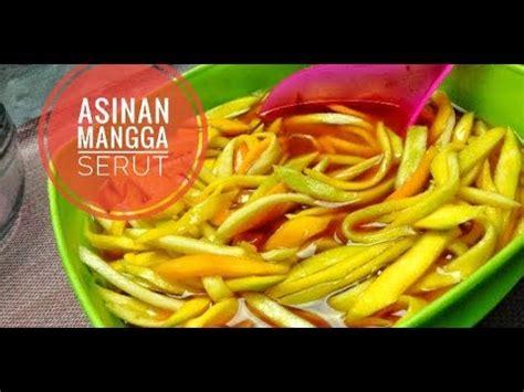 membuat asinan mangga serut    mango