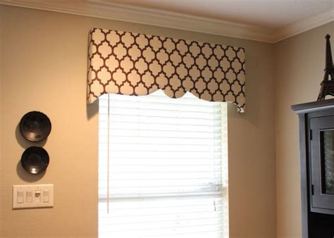 Foam Board Window Valance Diy Box Valence Hilary Asked Me What The Difference