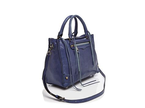 Room Designer App rebecca minkoff regan satchel in blue lyst