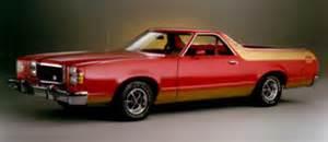 model history: ford ranchero ford parts