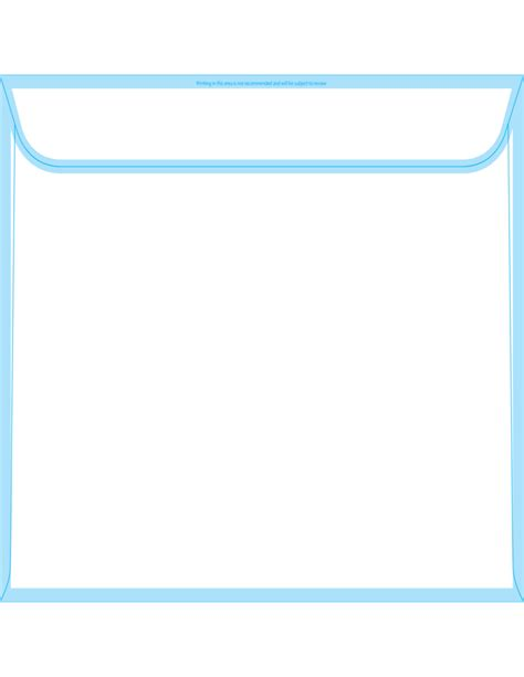booklet envelope template booklet envelopes 10 x 13 back free