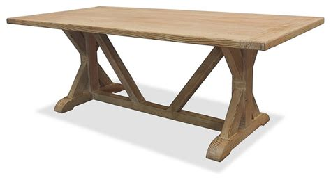 reclaimed wood dining table contemporary dining tables la phillippe reclaimed wood rectangular dining table