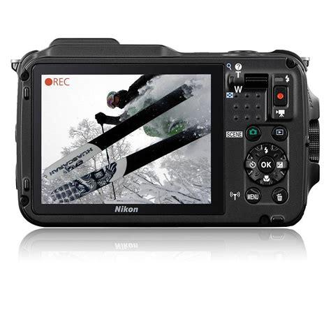 nikon coolpix aw120 outdoor digitalkamera 3 zoll orange de kamera