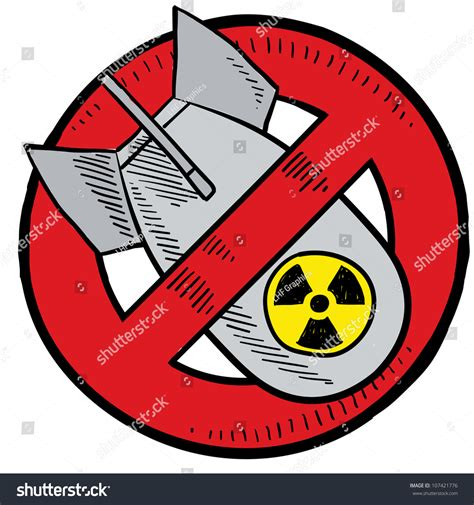 doodle how to make nuclear bomb doodle style antinuclear symbol showing nuclear stock