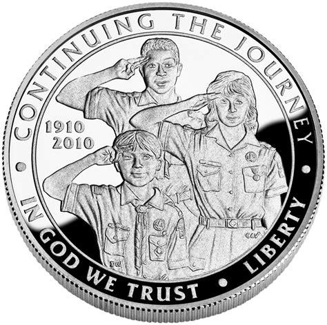 Boy Scouts Background Check The Bna 2010 Bsa Centennial Silver Dollar