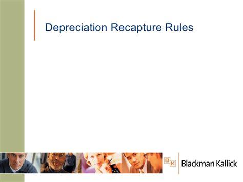 section 1250 depreciation recapture navigating the depreciation maze