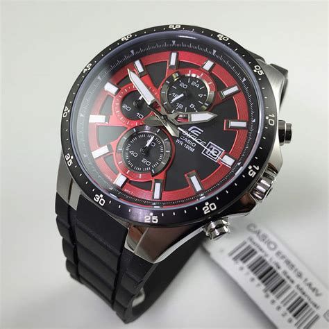 mens casio edifice chronograph  efr av