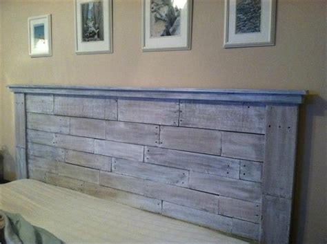 Headboards Made From Pallets by 40 Recycled Diy Pallet Headboard Ideas 99 Pallets