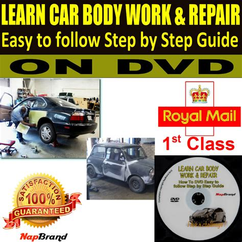 how can i learn to work on cars 2010 toyota tacoma parental controls learn car body work repair easy to follow step by step guide on dvd video ebay