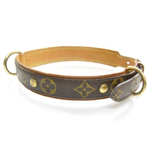 loui vuitton collar louis vuitton monogram baxter collar 23474
