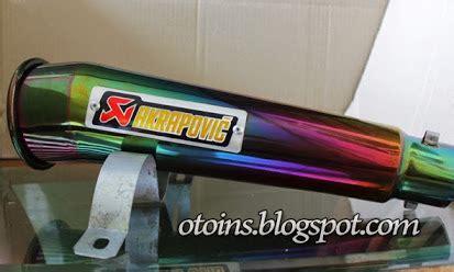 rincian harga knalpot akrapovic lorenzo megaphone layang
