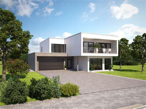 Fertighaus Aus Beton Fertigteilen by індивідуальний проект збірного будинку у стилі Bauhaus