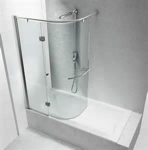 Small Shower Bath Combo doccia vasca piccola idee creative del moderno design casa