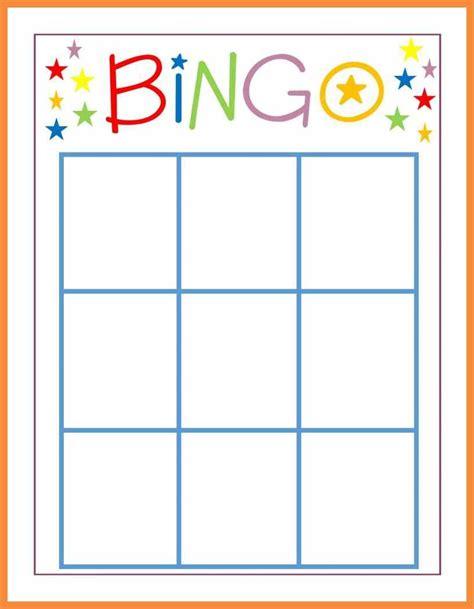 Printable Violin Cards Template by 7 8 Blank Bingo Sheet Bioexles