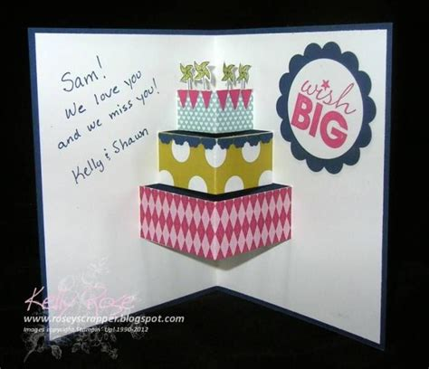 pattern pop up card birthday pop up card tutorial greeting cards pinterest