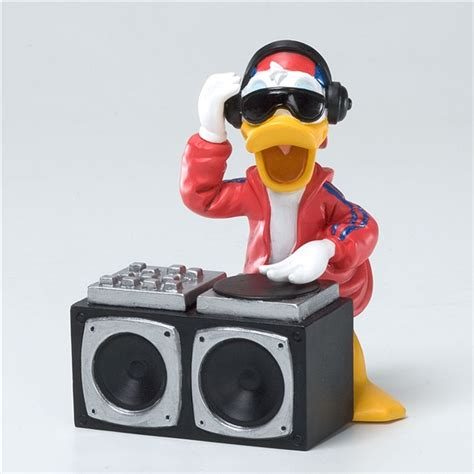 'Urban DJ Donald Duck' Disney Showcase Figurine, 4026100   Flossie's Gifts & Collectibles