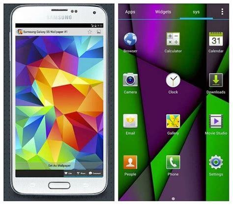 themes on galaxy s5 how to turn your galaxy s4 into an s5 with these awesome