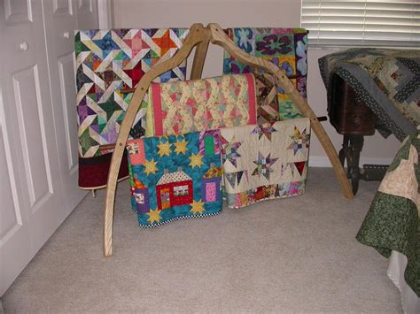 Small Quilt Rack by Quilt Rack Finewoodworking