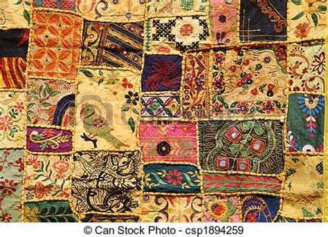 Indian Patchwork - stock photographs of patchwork indian patchwork wall
