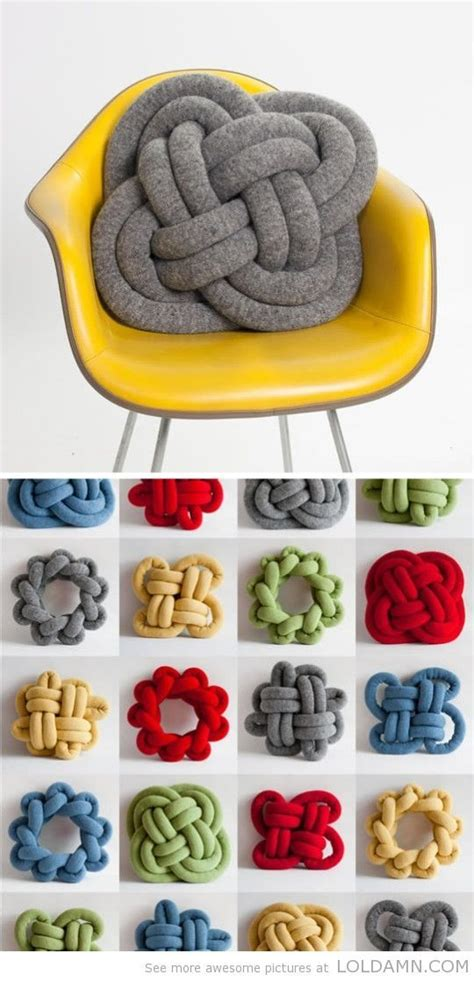 diy knot pillows craftbnb 25 best ideas about diy curtains on pinterest sewing