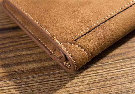 Baellerry Dompet Klasik Pria Awet baellerry dompet kulit pria bahan nubuck model vertical