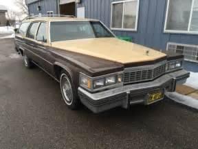 Cadillac Wagon For Sale 1977 Cadillac Station Wagon 1 Of 1 Produced