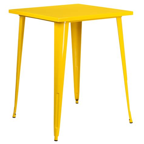 Yellow Bar Table Yellow Bar Table Yellow Cadiz Mosaic Bistro Table Contemporary Bar Tables By Cost Plus World