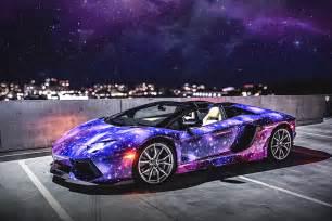 Lamborghini Galaxy Lamborghini Aventador Roadster Galaxy By Dxsc Hiconsumption