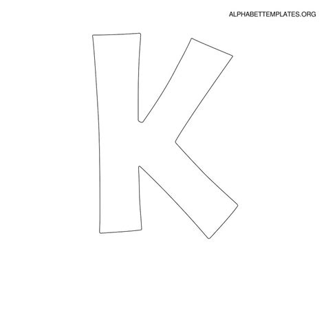letter k template best photos of letter k template block letter k template
