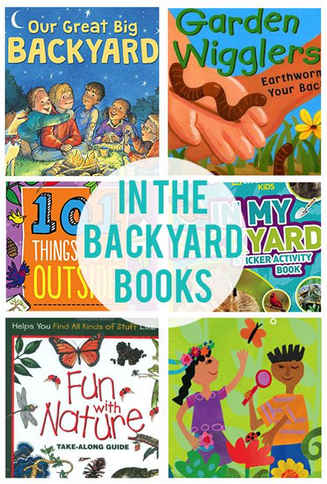 backyard books summer survival series in the backyard the crafting chicks