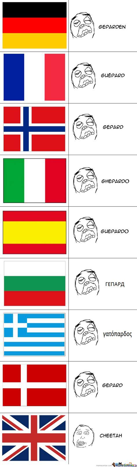 Language Differences Meme - language differences by ak 47 meme center