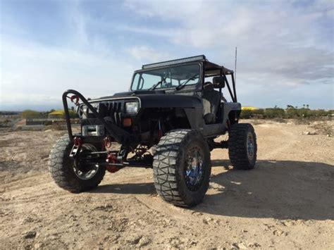 jeep yj rock crawler 1989 jeep yj rock crawler v8